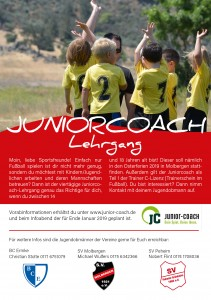 Flyer_Juniorcoach Lehrgang