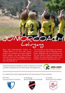 Flyer_Juniorcoach Lehrgang